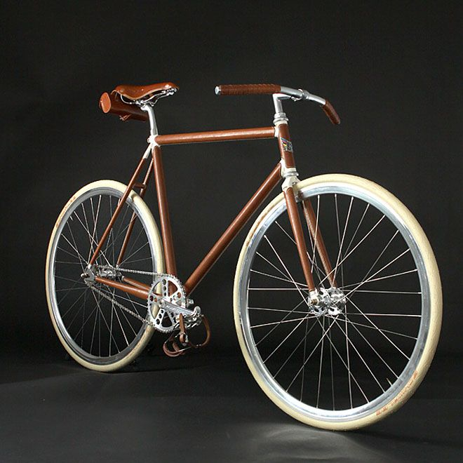 A Leather Clad Steel Handmade Italian Bicycle Bikes I Love