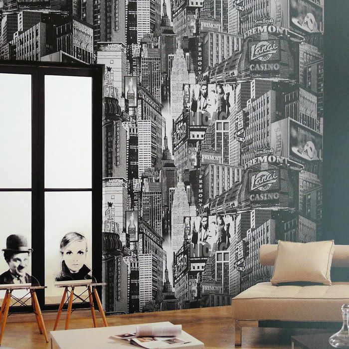 New York City Wallpaper For Bedroom - Home Design