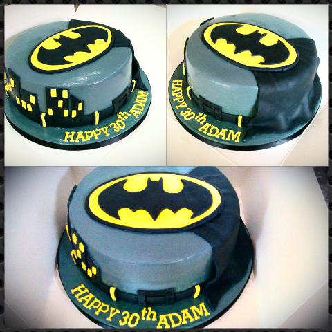 Birthday Cakes Simple batman cake funny cakes Pinterest
