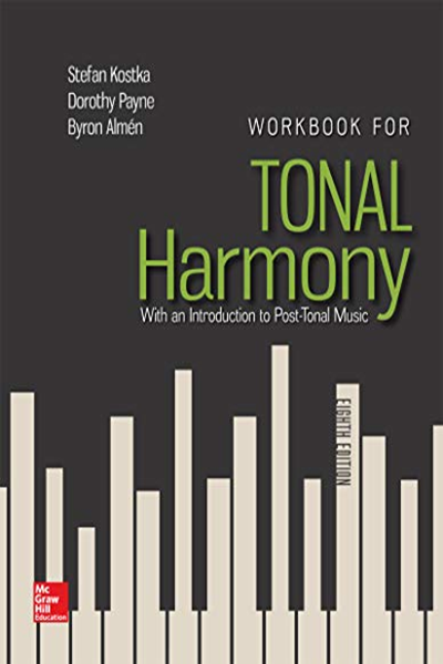 (2017) Workbook for Tonal Harmony by Stefan Kostka ...
