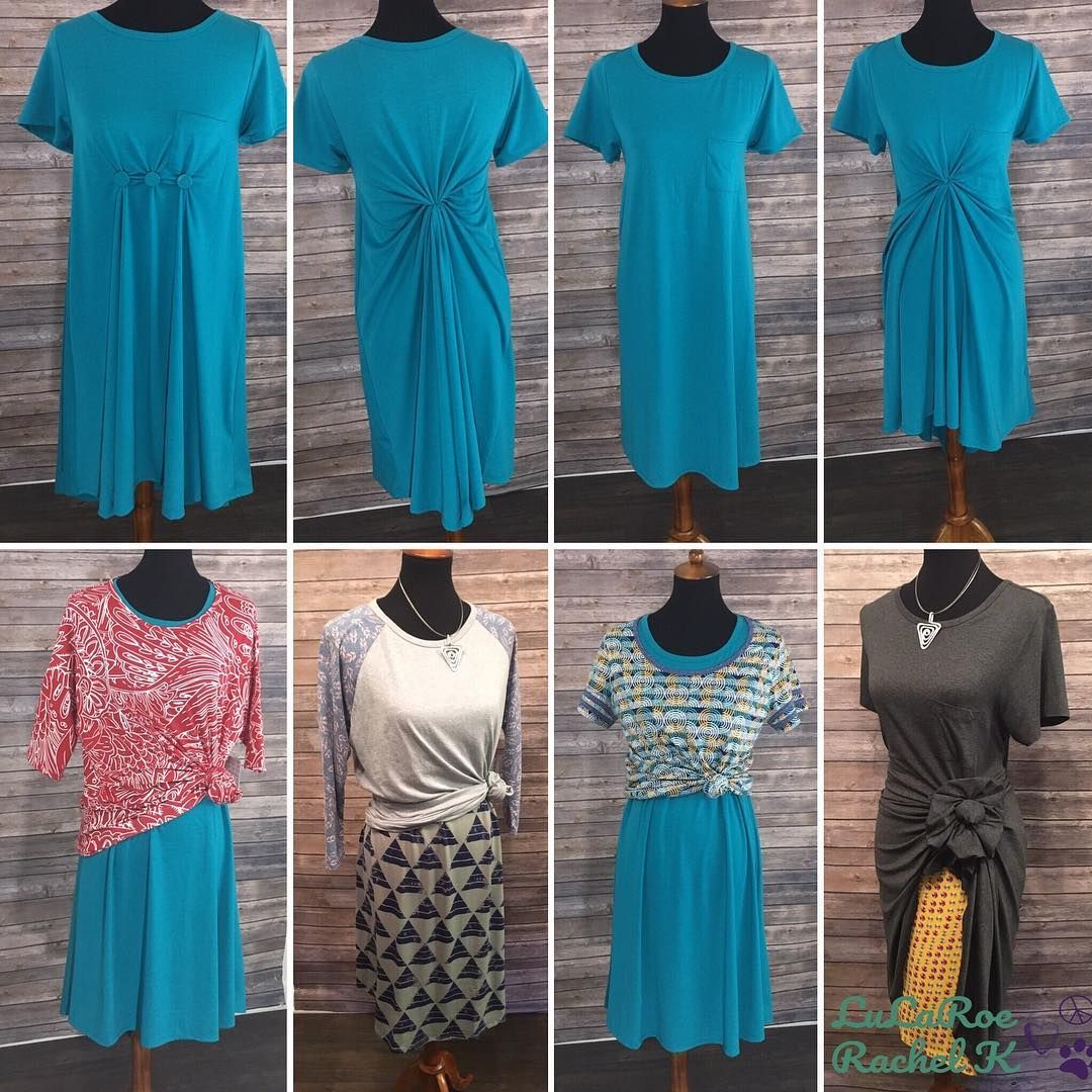 8 ways to style your LuLaRoe Carly!! Click to join us at Peace Love