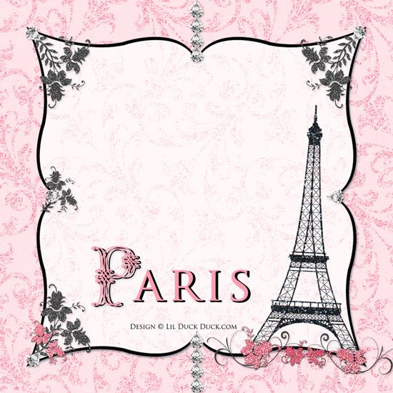 Night in Paris 16th Birthday Invitation - Pink Custom Event - free 18th birthday invitation templates