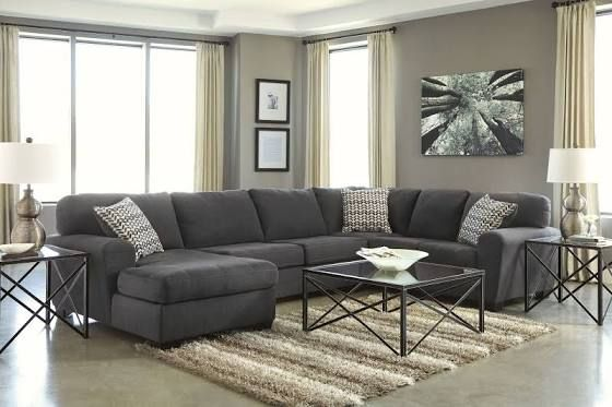 Fine Dark Gray Sectional Couch It Would Not Have A Corner Gmtry Best Dining Table And Chair Ideas Images Gmtryco