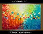 Art Abstract Painting Landscape Painting Original Modern Painting Impasto Painting Canvas Painting Acrylic Painting Wall Hangings Wall Décor