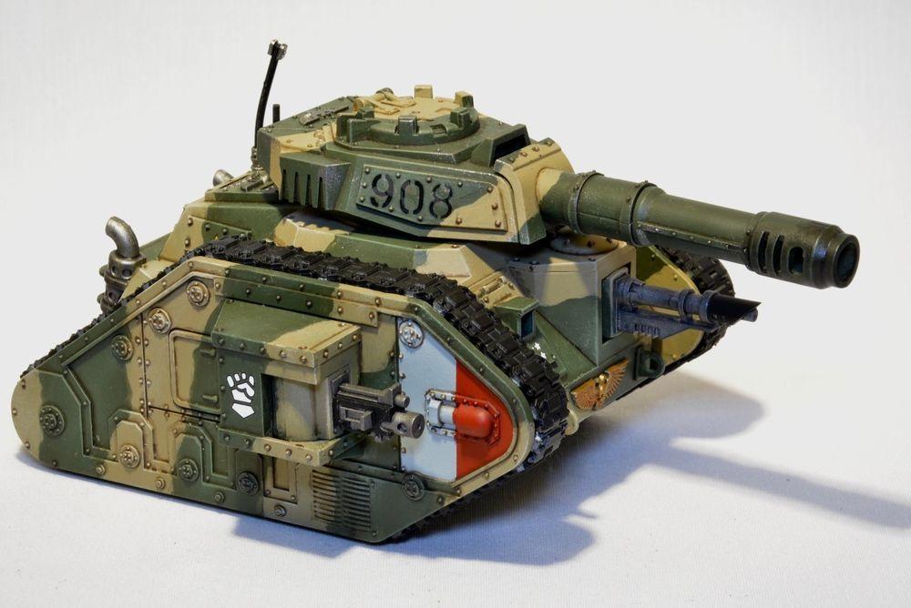 Warhammer 40K Army Astra Militarum Imperial Guard Leman
