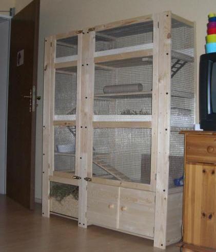 Abgeschlossene Projekte Kaninchenkafig Kaninchengehege Kaninchen