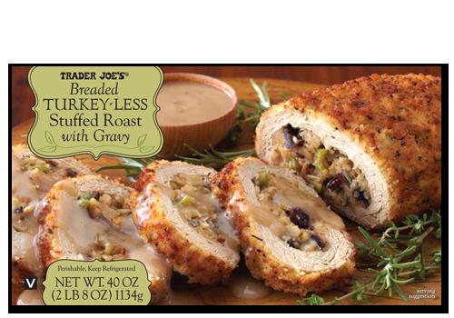 20 Trader Joe S Items That You Can Bring To Thanksgiving No One Will Notice Refinery29 Vegan Thanksgiving Vegan Turkey Vegan Holiday Recipes
