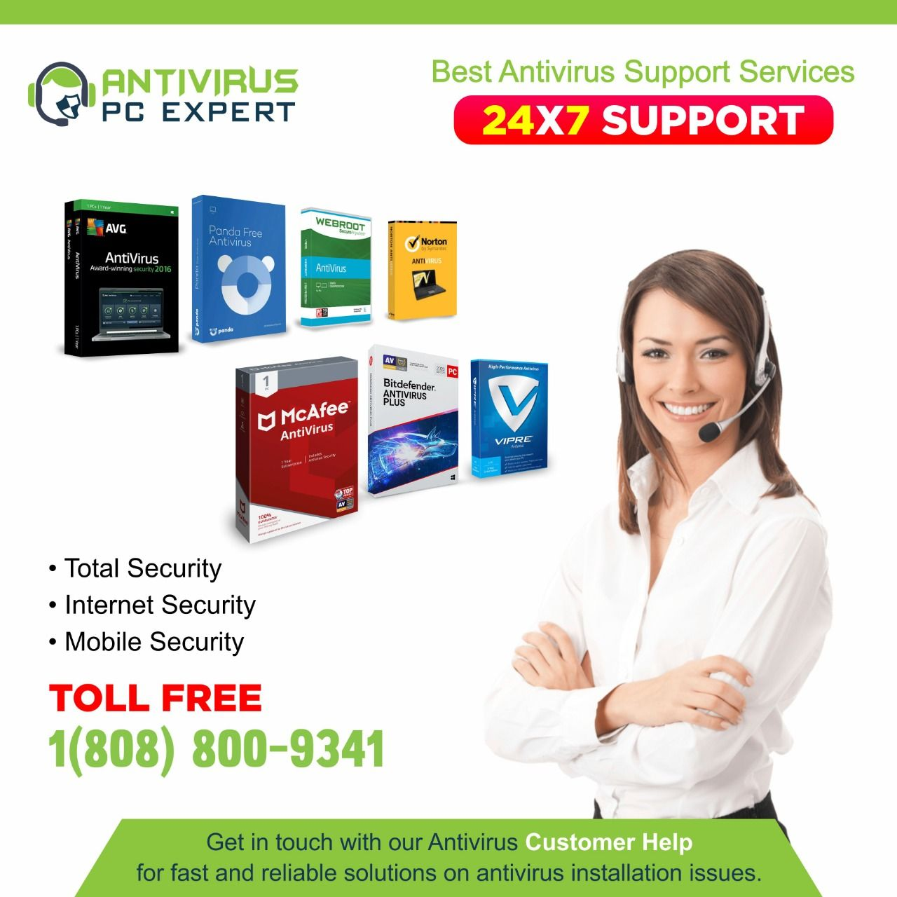 Antivirus Technical Customer Support Service in 2020