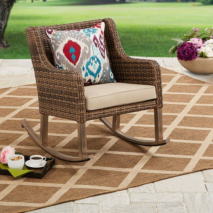 Patio & Garden (With images) Outdoor rocking chairs