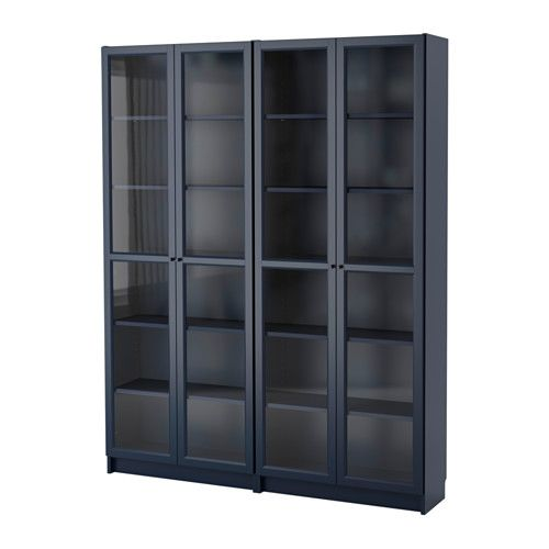 Billy Oxberg Bookcase Ikea Adjule Shelves Can Be Arranged According To Your Needs