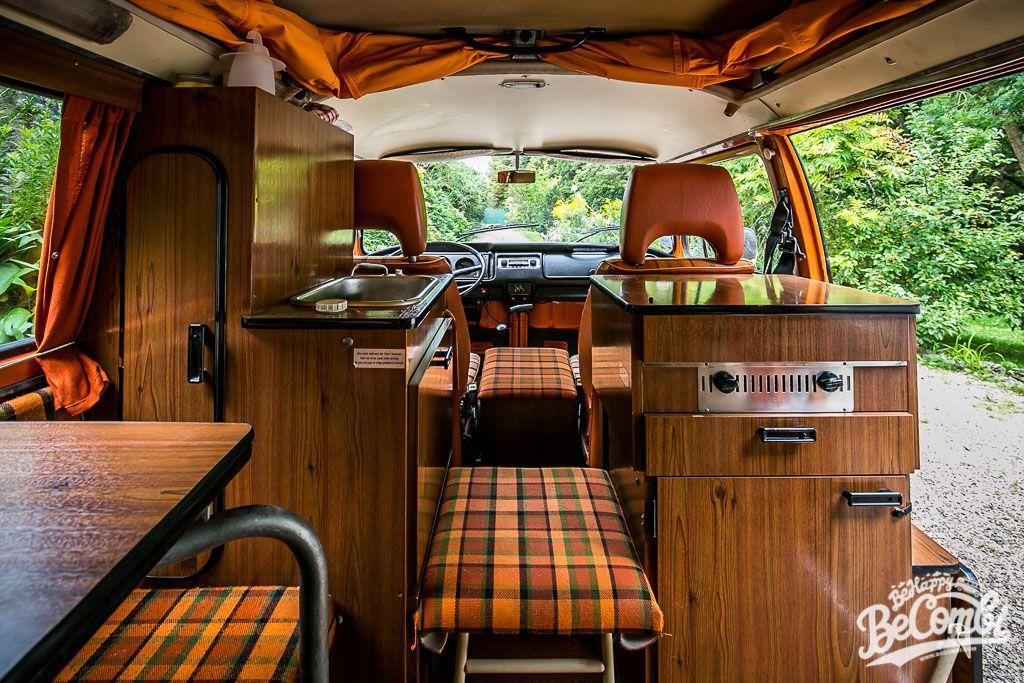 Extrem A l'intérieur de notre Combi Westfalia 1975 | Volkswagen, T1 t2  OH48