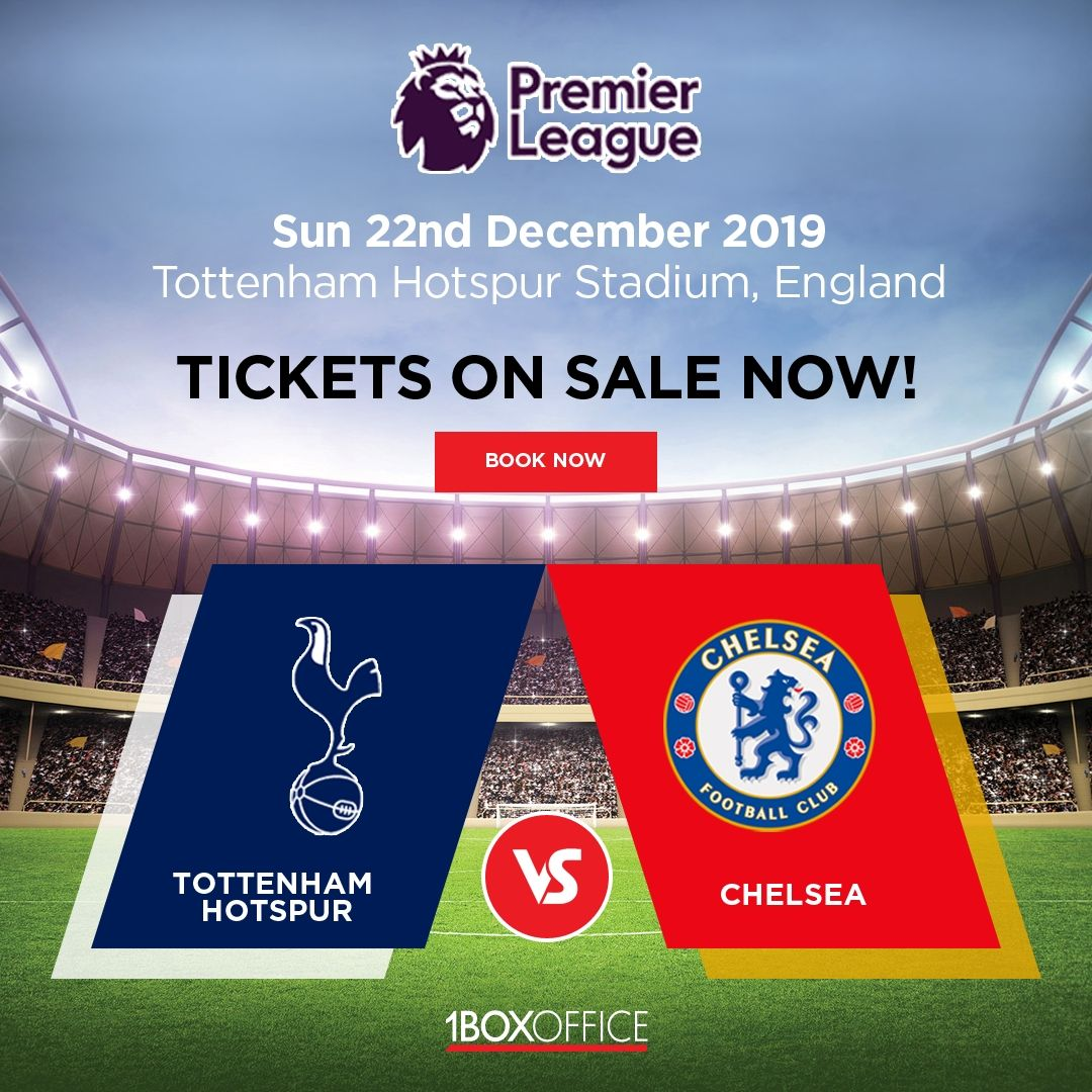Tottenham Hotspur vs Chelsea Tickets available online to ...