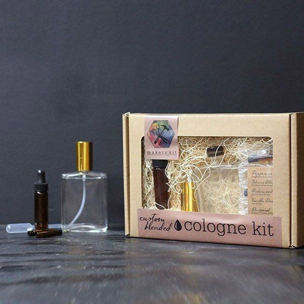Mens DIY cologne Kit - 11 DIY Perfume Ideas | Learn To Create Your Own Perfect Perfume With Your Favorite Essential Oils That You Can Customize The Oils, Aroma And Amount of Money Spent, see more at http://diyready.com/diy-perfume-ideas-essential-oil-perfume-recipes