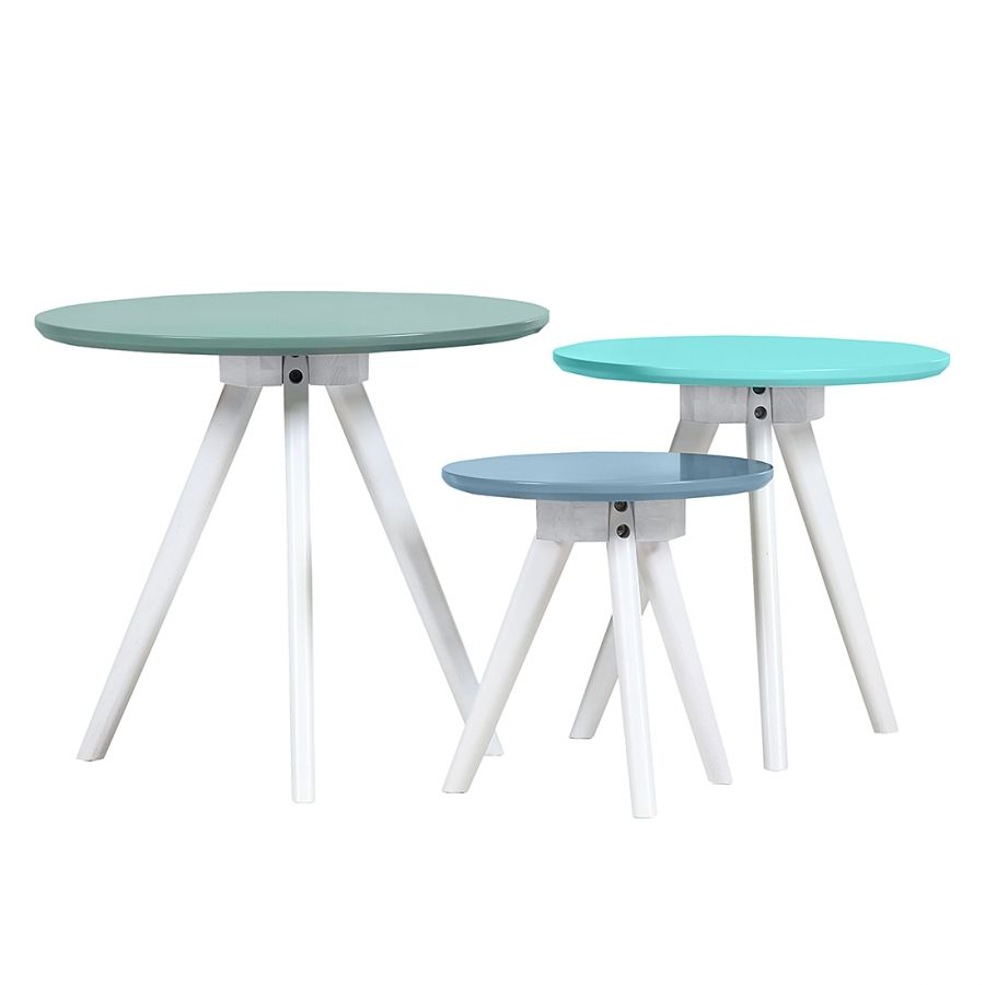 Table Gigogne Bubblegum Lot De 3 Salem S Lot Chang E 3 And Tables