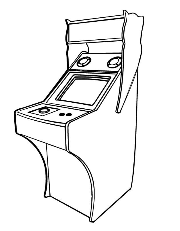 video game coloring pages - Google Search | Poster Ideas ...