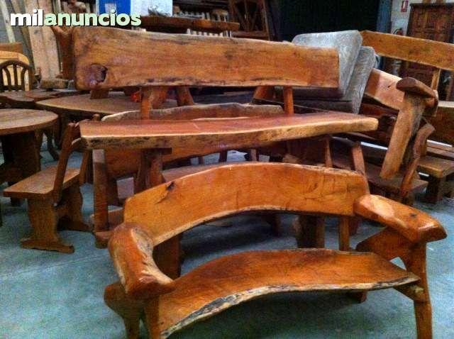 Mil anuncios com muebles r sticos jard n casas de madera caba as pinterest zoos - Muebles de madera rusticos ...