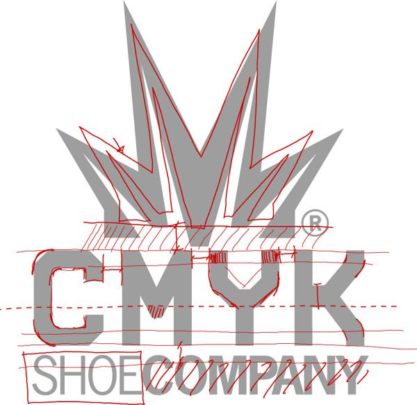 Restyling logo cmyk shoe company by andrea codoro via for Logos space torino