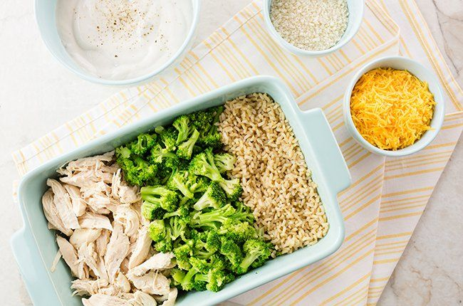 Easy Chicken And Rice Casserole  Recipe  500 Calorie -6034