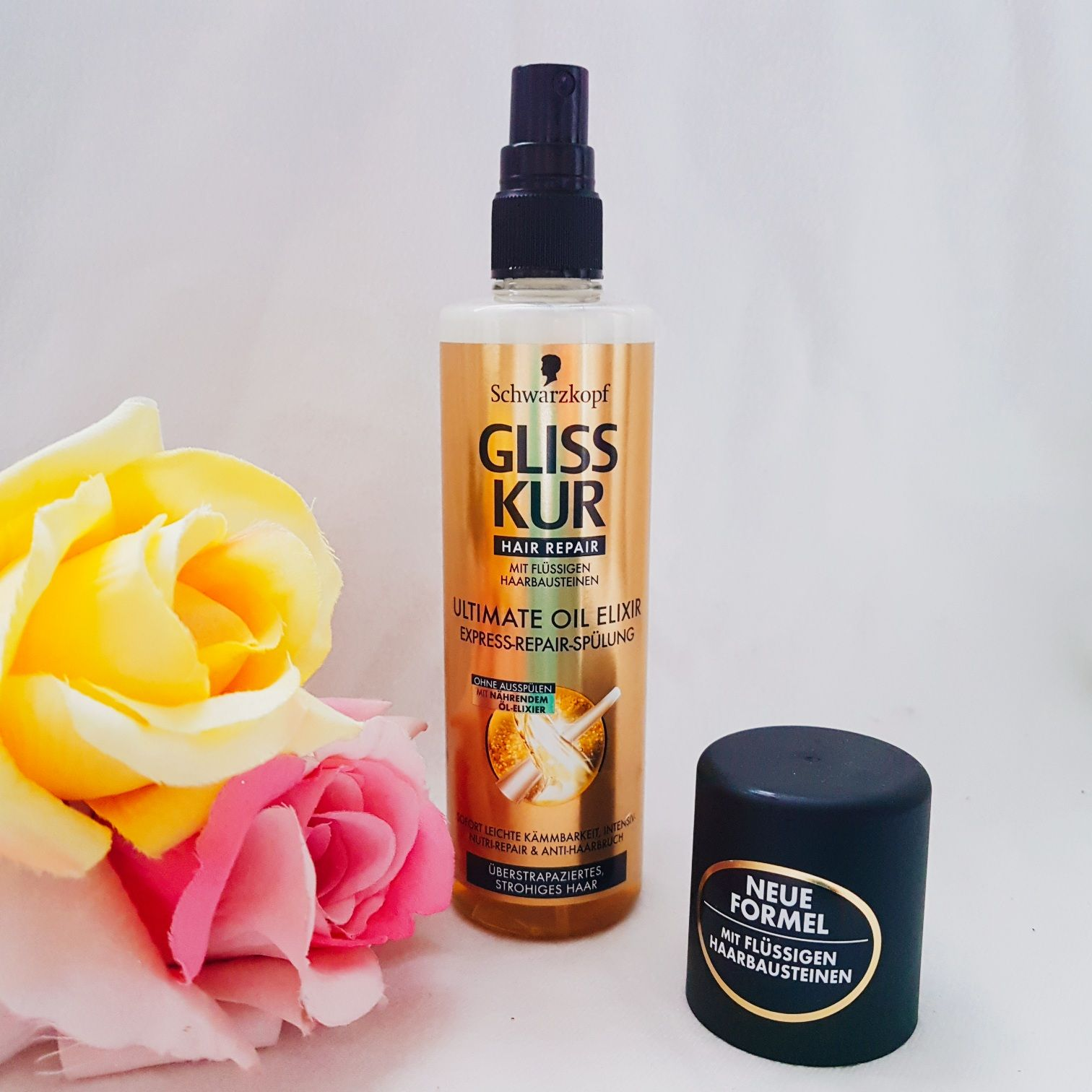 Gliss Kur Hair Repair Ultimate Oil Elixir Express-Repair-Spülung Erfahrung