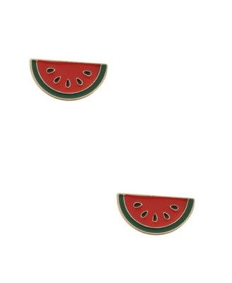 watermelon earrings :)