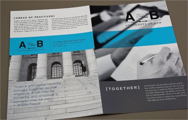 Classic Law Firm Brochure Template law brochure Pinterest - law firm brochure