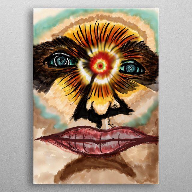 in the mind's eye by joe carroll | metal posters - Displate | Displate thumbnail