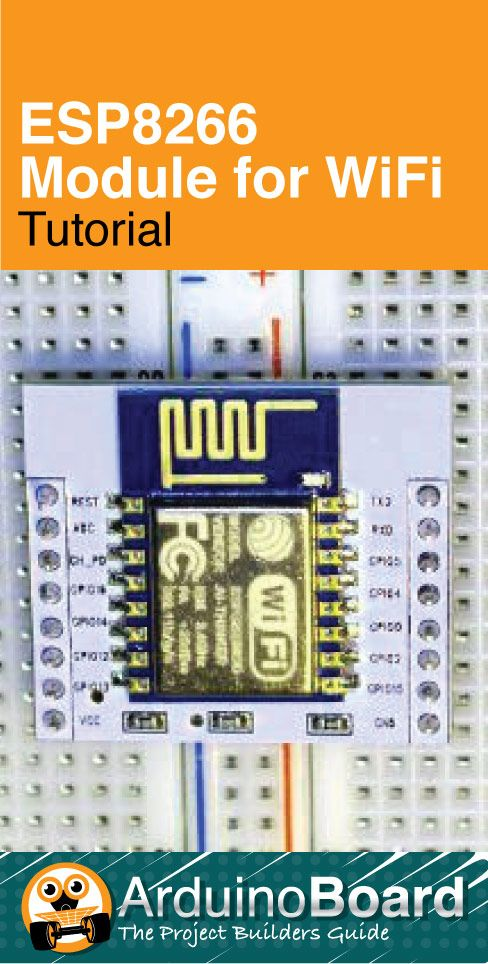 ESP8266 Tutorial | Automation, Robotics, CNC, and Other Electronic
