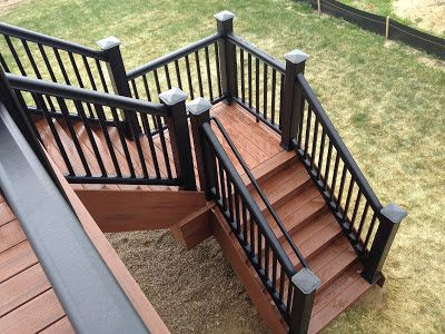 Outdoor House Wrought Iron And Wood Staircase   Google Search