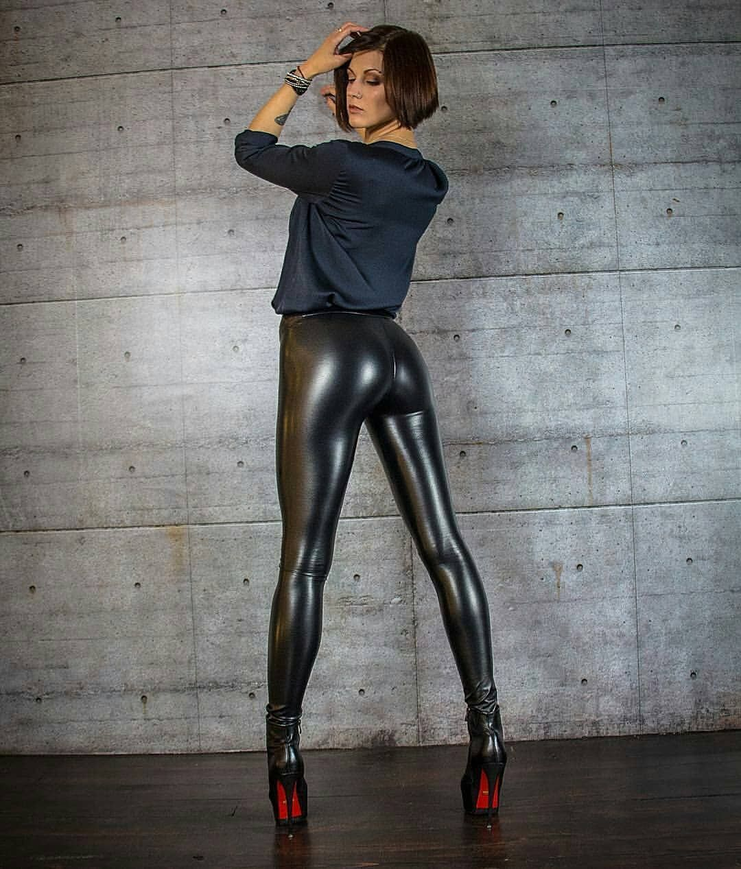 Pin By Roma Aztrk On Styles  Leather Leggings, Latex -9445