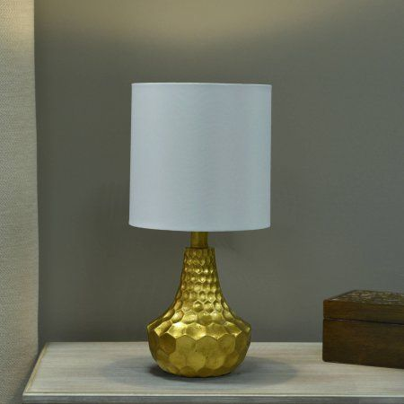 Buy Better Homes And Gardens Gold Faceted Table Lamp With