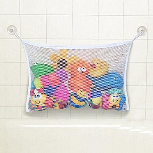 2015 패션 새로운 아기 장난감 메쉬 스토리지 가방 목욕 욕조 인형 주최자 흡입 욕실 물건 그물 63LW 크리스마스 선물 6LIX