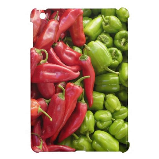 Red & Green Peppers Cover For The iPad Mini