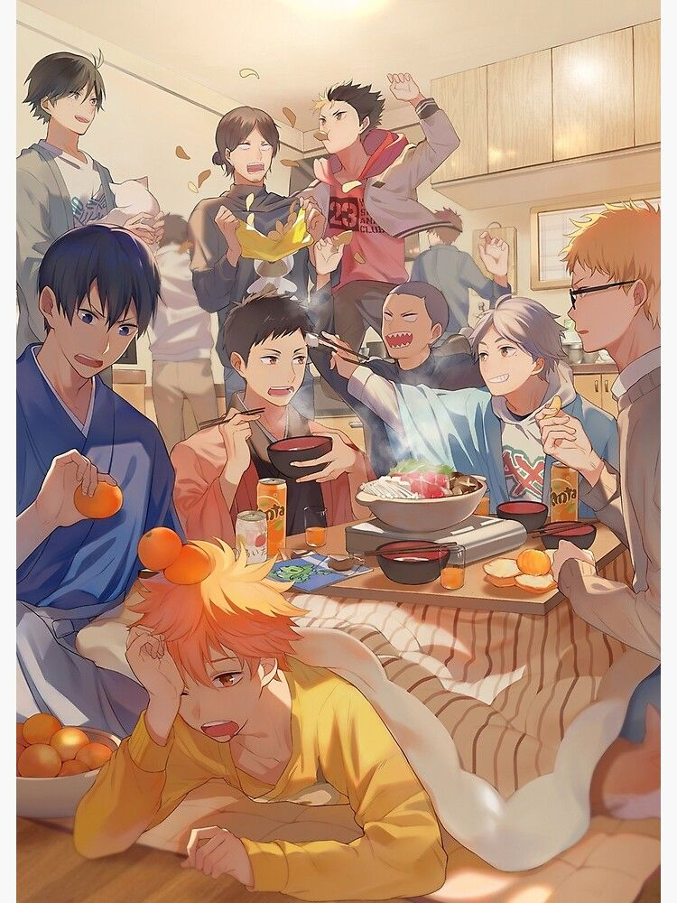 Karasuno Team Poster by terpres