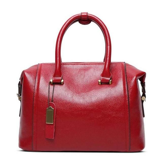Angel Voices Women Genuine Leather Bag S Messenger Bags Tote Handbags Famous Brands High Quality