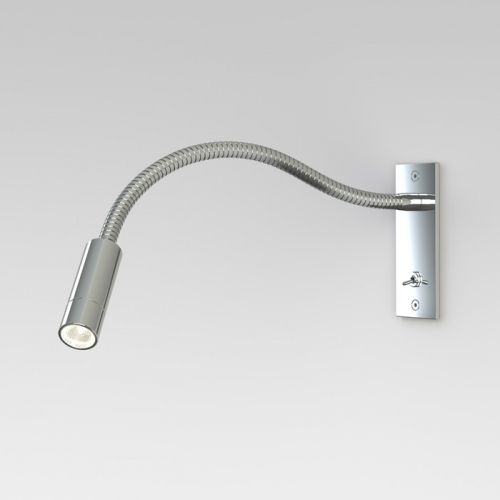 Astro Leo Switched Chrome Led Reading Light