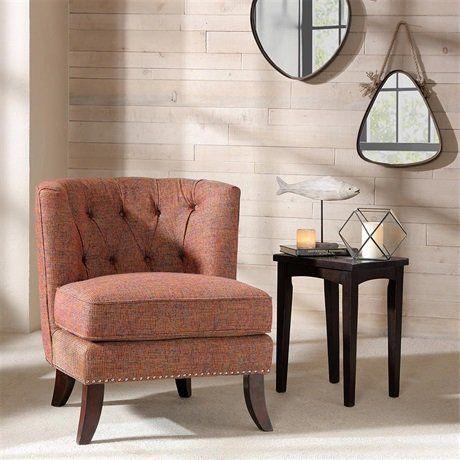 Madison Park Mimi Tufted Barrel Chair Multi See below Mad...