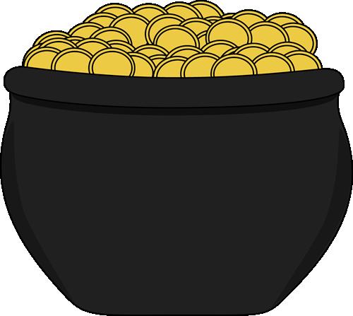 Pot Of Gold Clip Art Pot Of Gold Image Pot Of Gold Image Pot Of Gold St Patricks Day Clipart