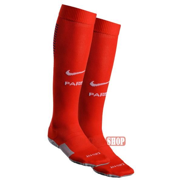 Bargain Price Best Quality Paris Saint Germain Red Long Soccer Socks 2016 2017 Away Maker Direct Online Sale Soccer Socks Socks Soccer