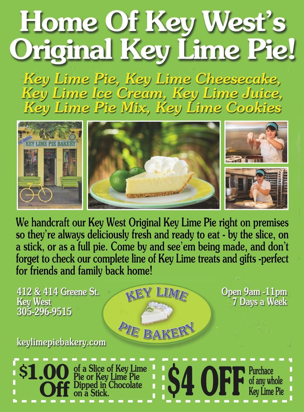 Key west florida keys discount coupons and gift shop