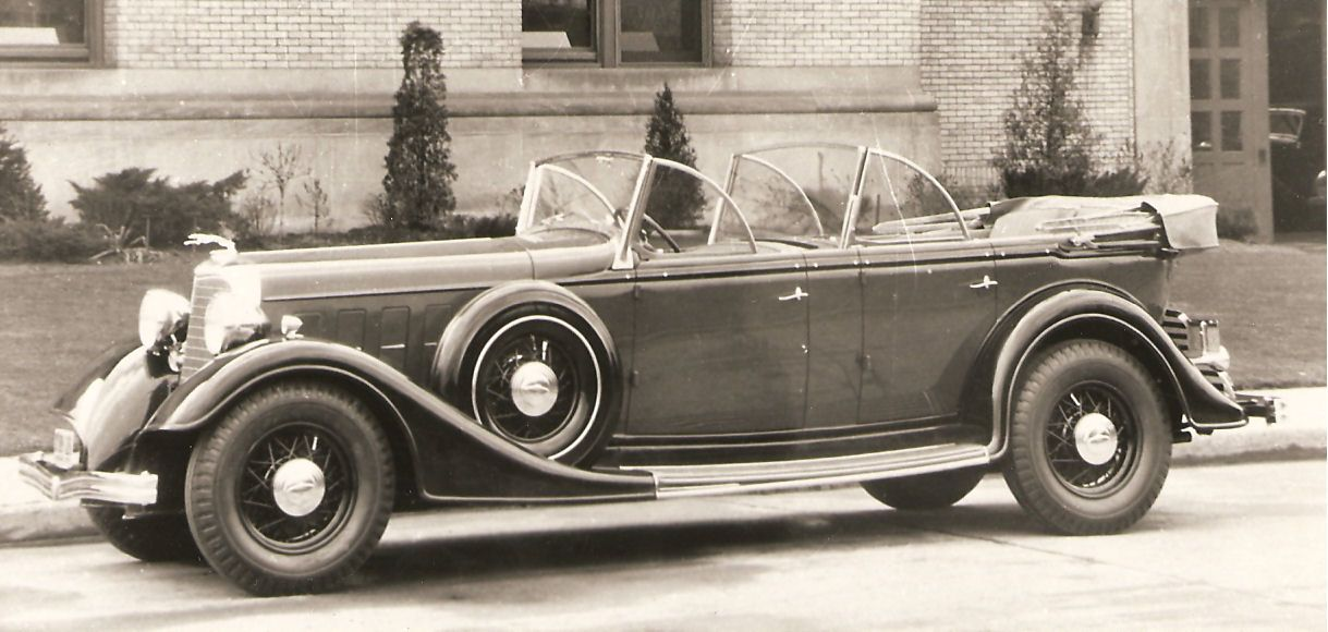 1934 Lincoln dual cowl phaeton Antique cars, Automobile