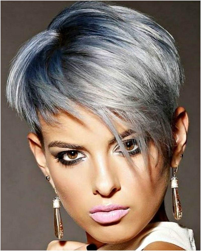 14 Adorable Short Gray Hairstyles Beatifull Rambut Tato Jenis