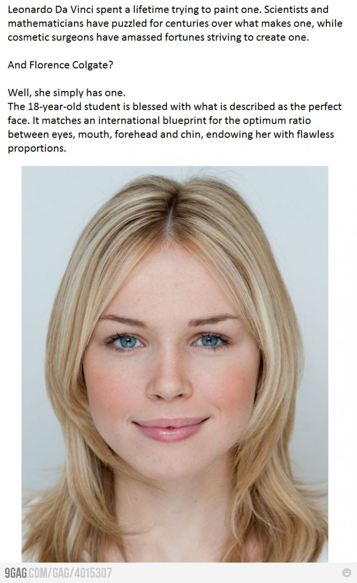 The Perfect Face  Features, Blonde Hair, Blue Eyes -7073