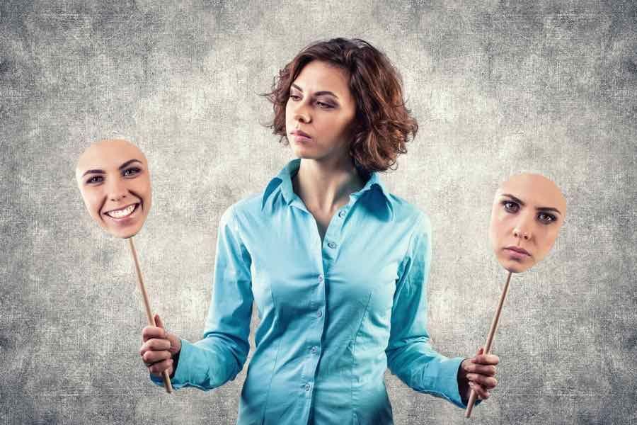 negative tanker og følelser