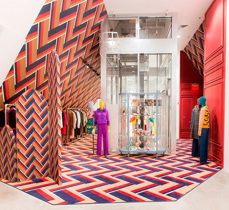 Gucci Dover Street Market Open New York Permanent Shop In