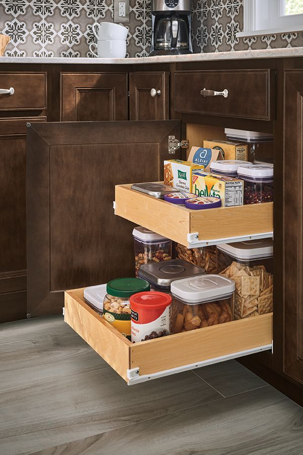 Discover smart ways to organize your kitchen cabinets ...