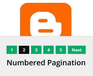 How to Add Numbered Pagination in Your Blogger Blog