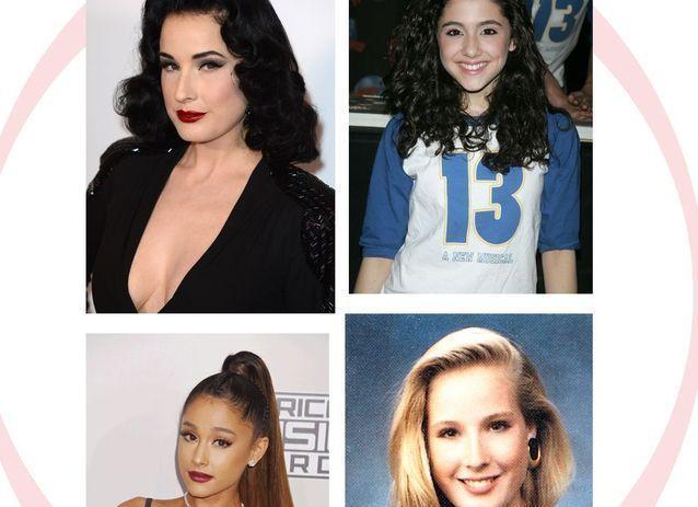 Inspiration Coiffure Description Avant Apres Les Cheveux Des Stars Au Inspiration Coiffure Description In 2020 T Shirts For Women Brande Fashion