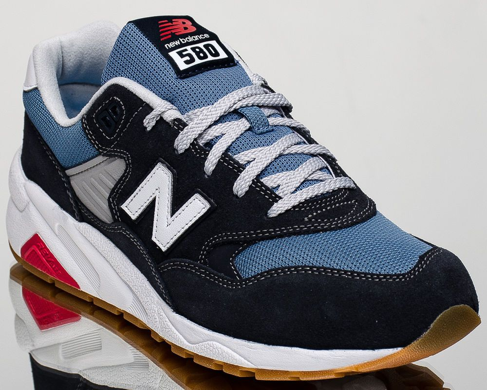 new style 12cfe dde17 New Balance 580 NB NB580 men lifestyle casual sneakers NEW navy MRT580-MD    eBay