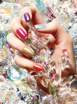 try a chic color combo for vday nails sephora with