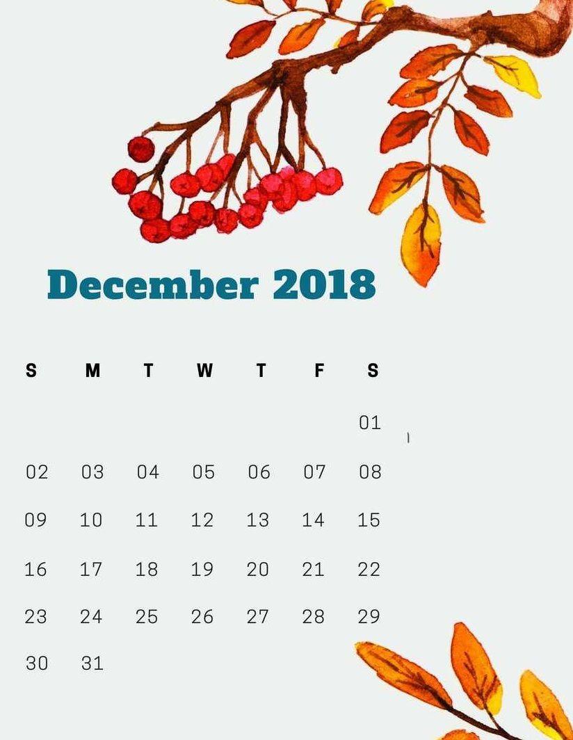 December Laptop Calendar 2019 Wallpaper December 2018 iPhone Wallpaper Calendar | Calendar Wallpapers